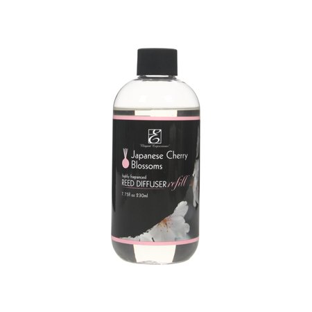 Hosley® Premium Japanese Cherry Blossom Reed Diffuser Refills Oil, 230 ml Spice Reed Diffuser Oil