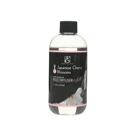 Hosley® Premium Japanese Cherry Blossom Reed Diffuser Refills Oil, 230 (Japanese Cherry Blossom Fragrance Oil)