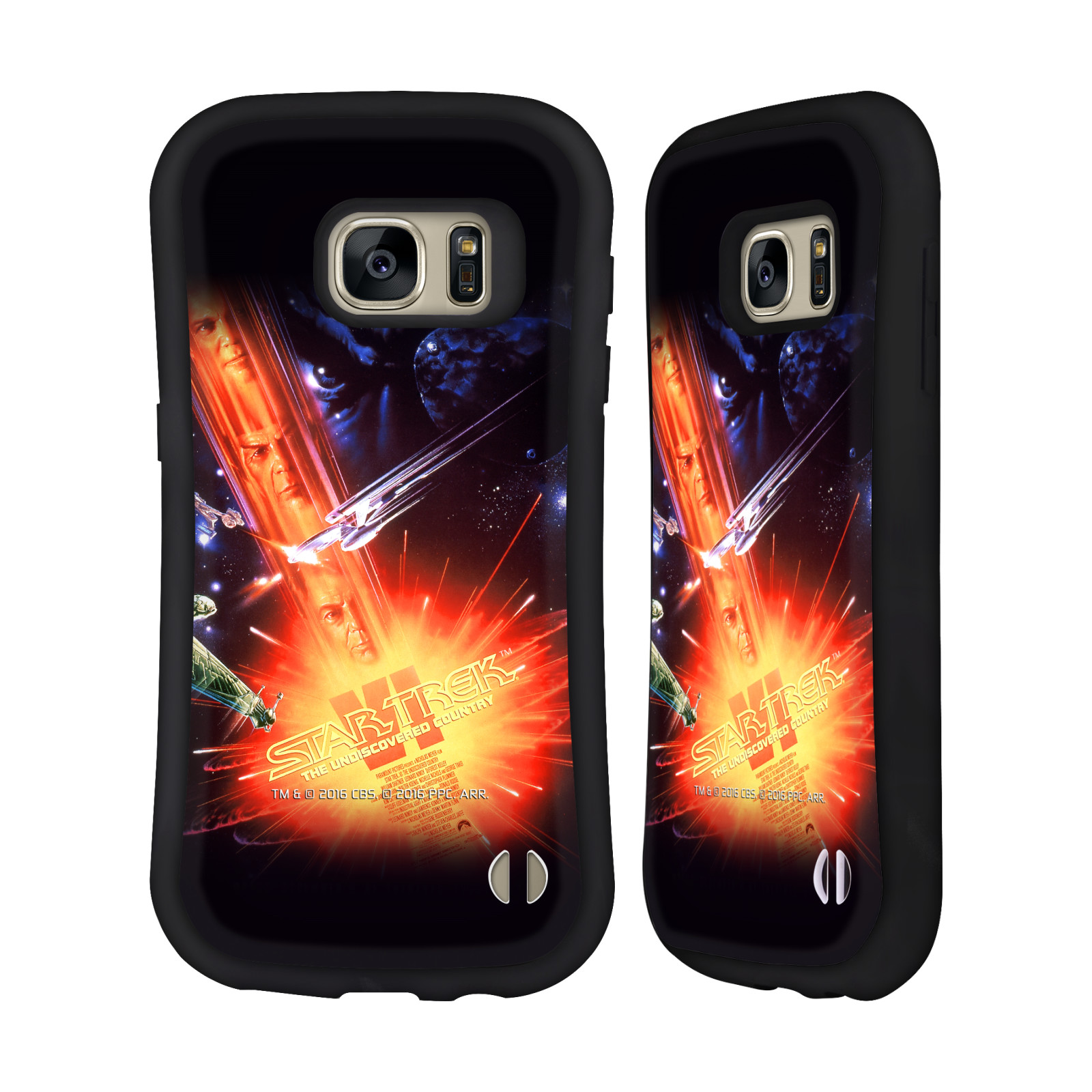 OFFICIAL STAR TREK MOVIE POSTERS TOS HYBRID CASE FOR SAMSUNG PHONES