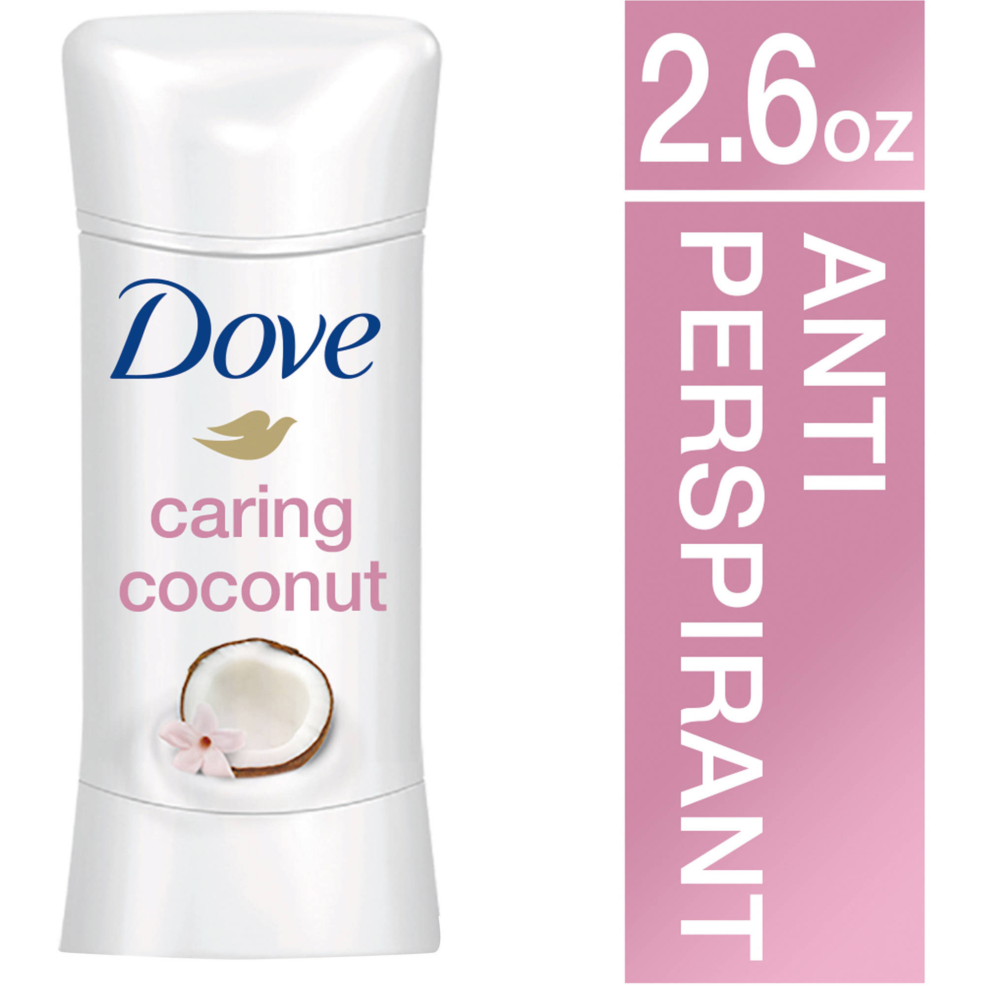 Dove Advanced Care Caring Coconut Antiperspirant Deodorant, 2.6 oz