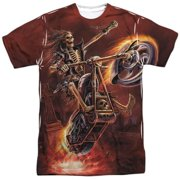 Anne Stokes - Hellrider (Front/Back Print) - Short Sleeve Shirt - X-Large