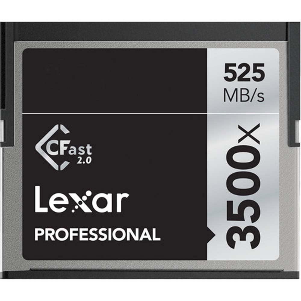 Lexar Professional 3500x CFast 2.0 Memory Card for 4K Video Cameras LC64GCRBNA by Lexar