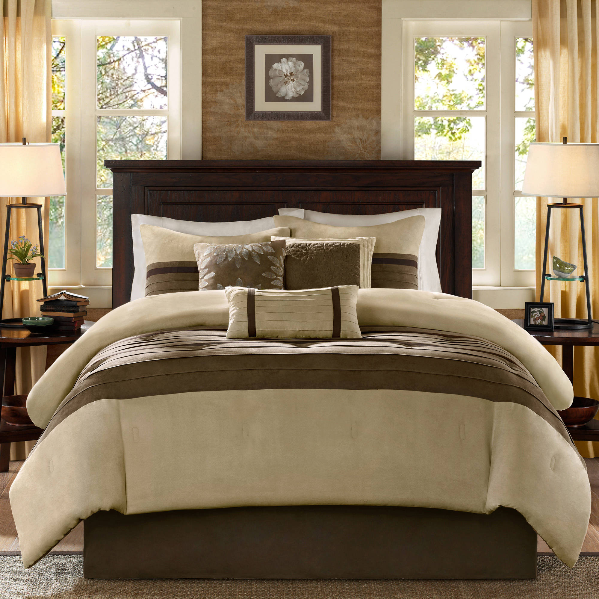 Empire Home Dawn 8 Piece forter Set Over Sized Bed In A Bag King