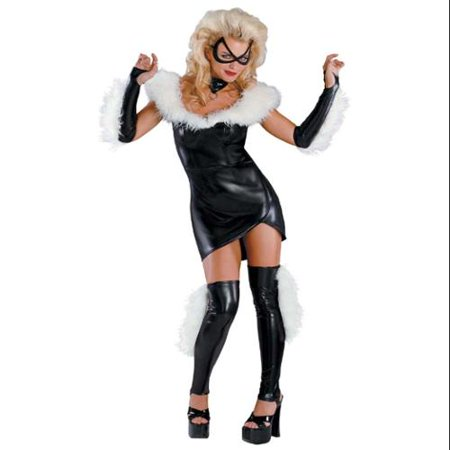 Marvel Black Cat Sassy Prestige Teen Costume Teen 7-9](Cat Teen Costume)