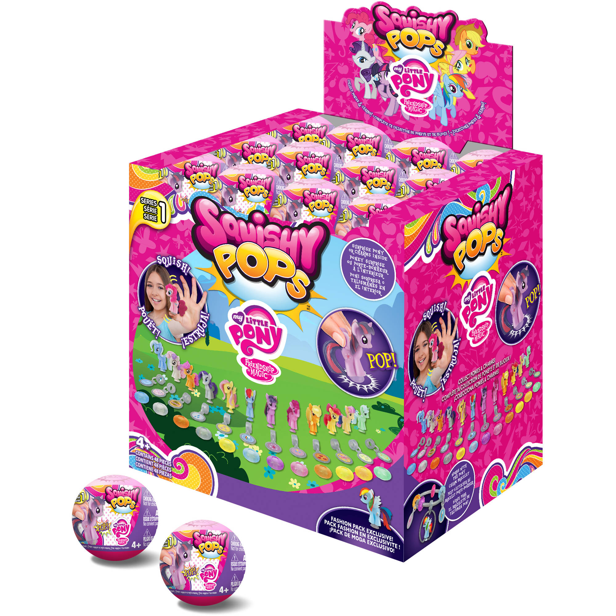 Squishy Pops Capsules Bulk, 48 pieces - Walmart.com
