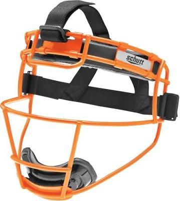 Schutt 122150CC Softball Fielder's Protective Face Mask, YOUTH, Neon Orange