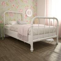Deals on DHP Jenny Lind Metal Bed 4097119