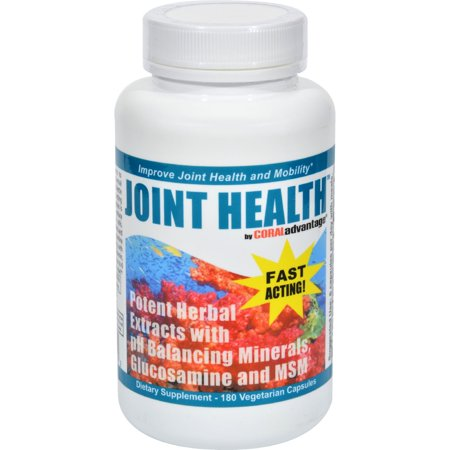 Advanced Nutritional Innovations Coraladvantage Joint Health   180 Vcaps    Pack Of 2