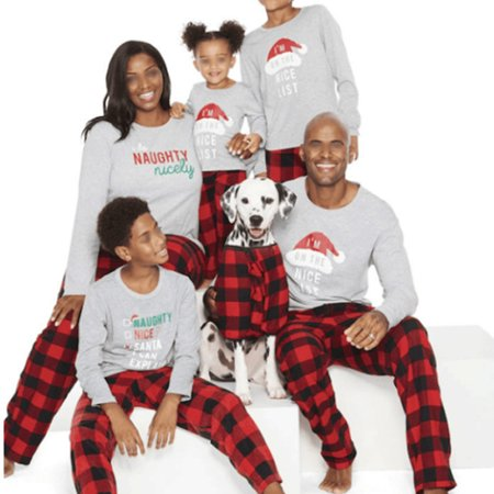 Family Christmas Pajamas With Dog.Emmababy Family Matching Christmas Pajamas Set Santa Hat