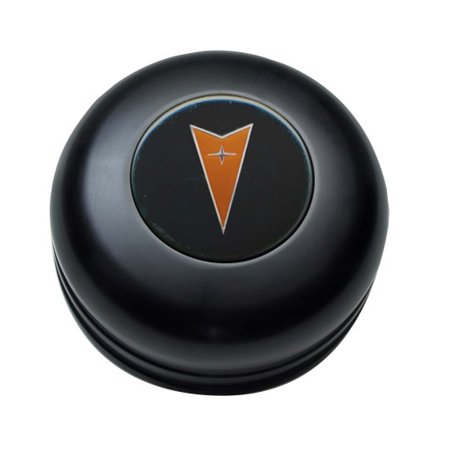 GT Performance 21-1032 GT3 Standard Pontiac Horn Button, Black