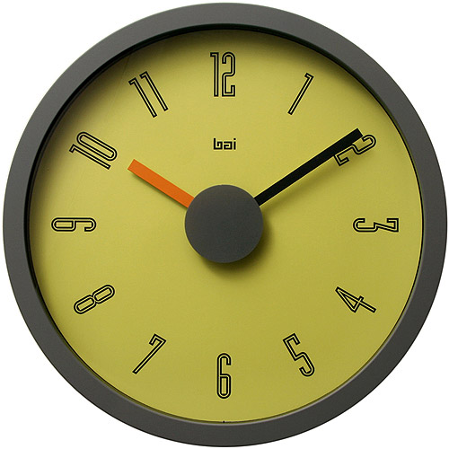 "Bai 10"" Wall Clock, Cyber"