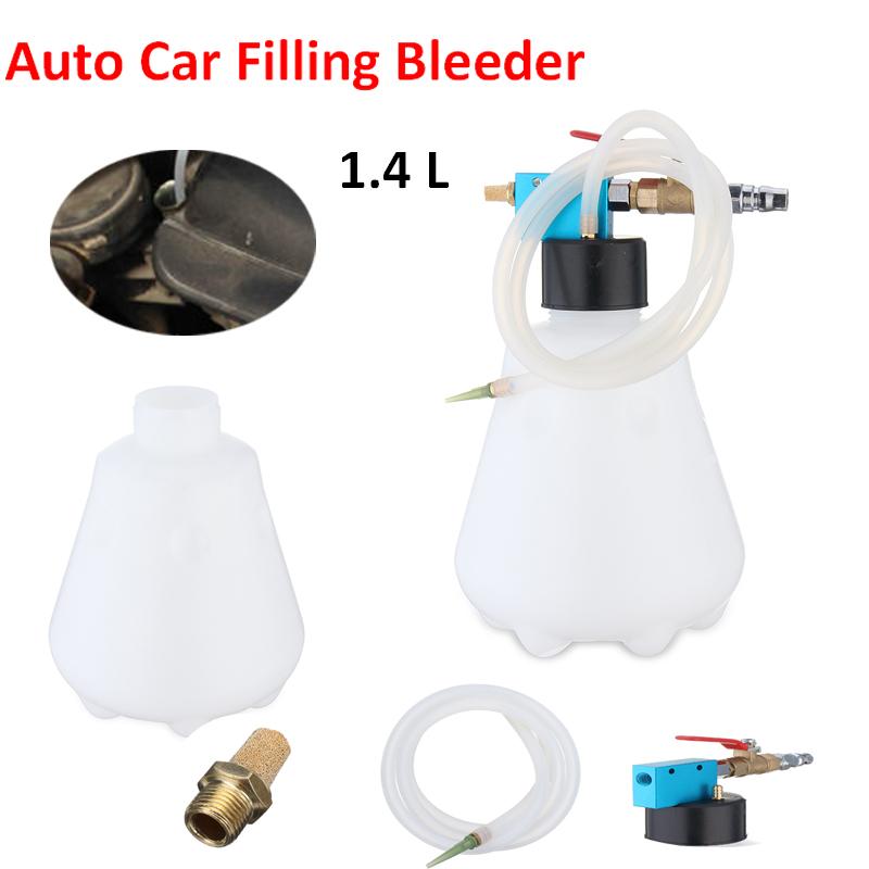 Car Vehicle Auto Brake Filling Bleeder Bleeding Bottle Pumping Emptying Tool