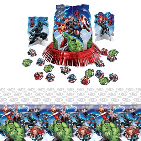 Epic Avengers Table Decoration Kit - Avengers Birthday Supplies