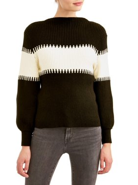 c86100b13d Product Image Women s Balloon Sleeve Mock Neck Sweater