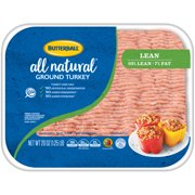 Butterball Lean All Natural Ground Turkey 1.25 lb.