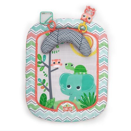 Bright Starts Tummy Time Prop Amp Play Activity Mat Giggle