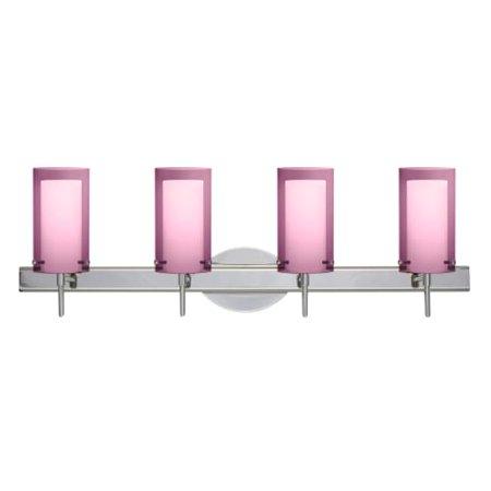 Besa Lighting SWA Pahu Light Reversible Halogen Bathroom - Halogen bathroom vanity lights