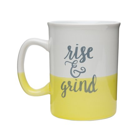 Rise & Grind Dipped Mug, 28 oz