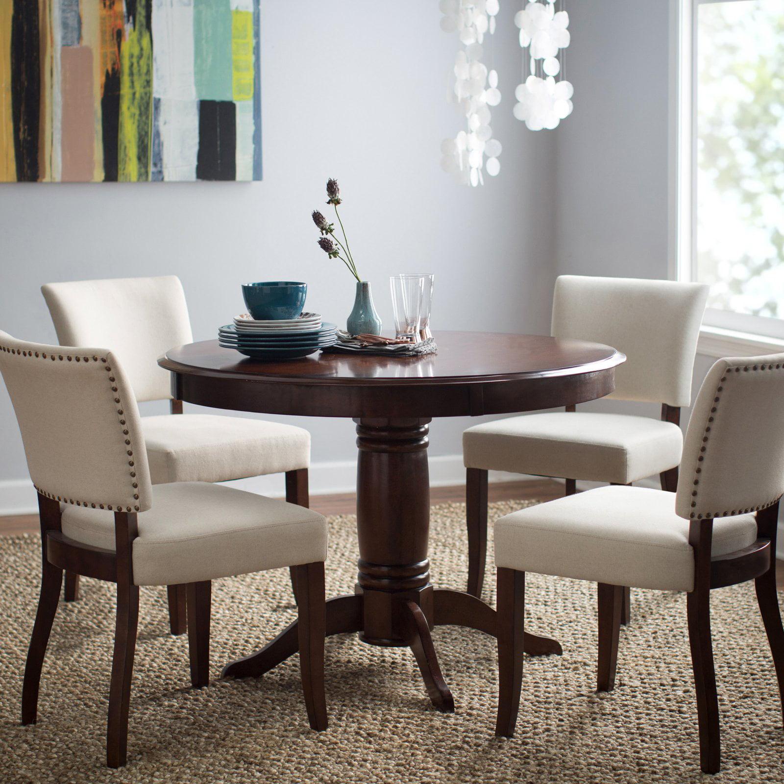 Belham Living Spencer Round Pedestal Dining Table Espresso by