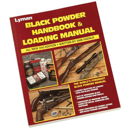 Lyman 9827100 Black Powder Reloading Manual, 2nd
