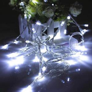 Perfect Holiday 100 LED String Fairy Light - - Holiday Light Mounting