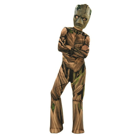 Marvel Avengers Infinity War Teen Groot Boys Halloween Costume (Diy Halloween Costumes For Teenagers)