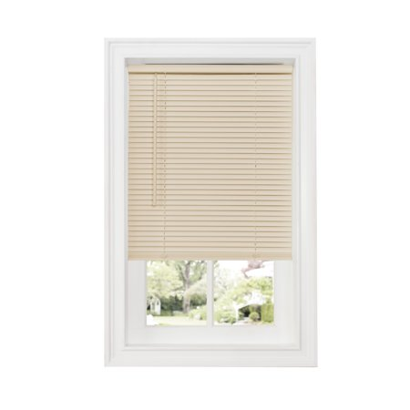 Achim Cordless GII Deluxe Sundown 1u0022 Room Darkening Mini Window Blind, Alabaster