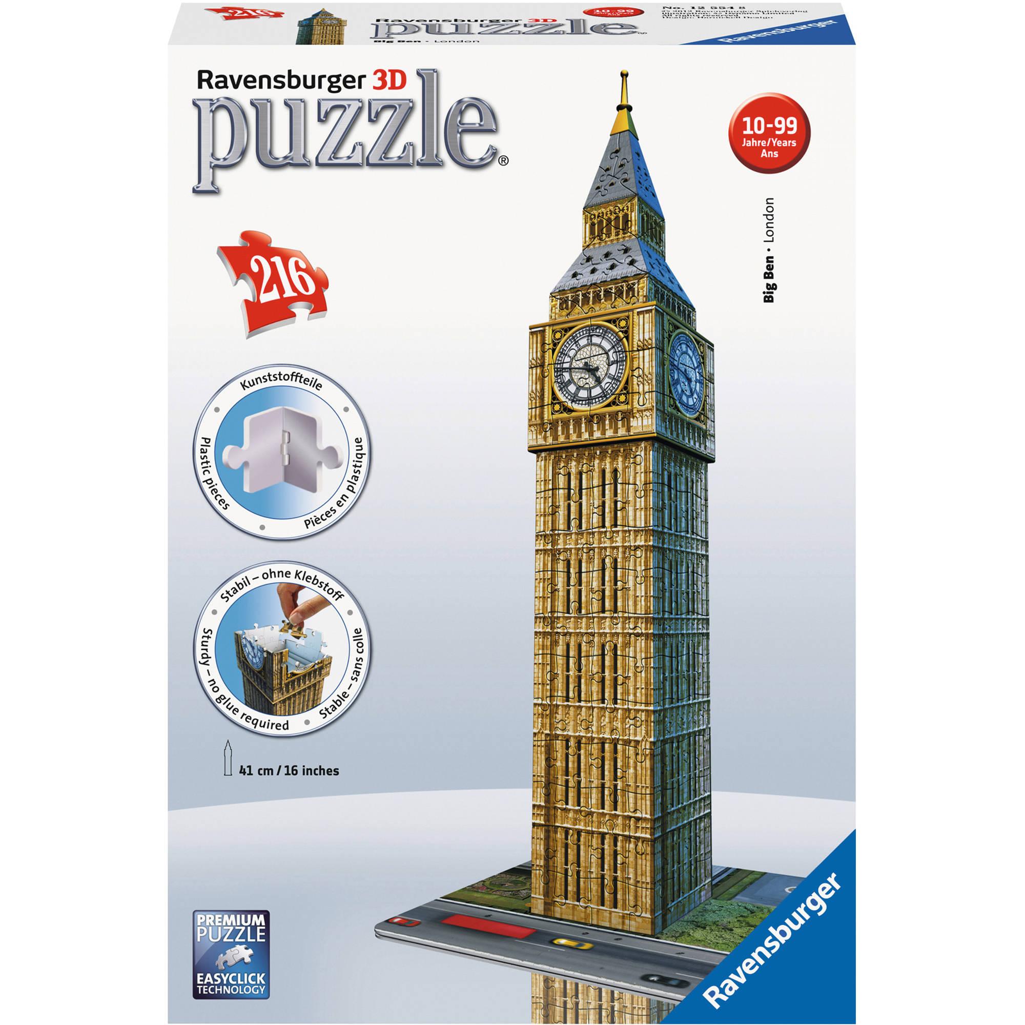 Generic Ravensburger Big Ben 3D Puzzle, 216 Pieces