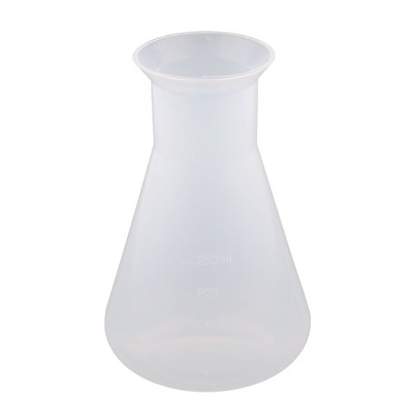 Laboratory Plastic Cone Shaped Water Liquid Measuring Cup Container Clear 250ml](Cone Shaped Objects)