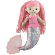 "12"" Mermaid Plush Doll"
