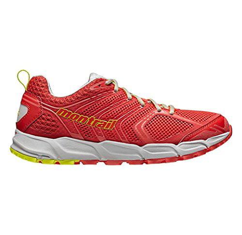 Montrail Women's Caldorado Hiking Sneakers, Red Mesh, 7.5 M