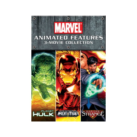 Marvel Animated Features Collection (DVD) - Animated Halloween Movies