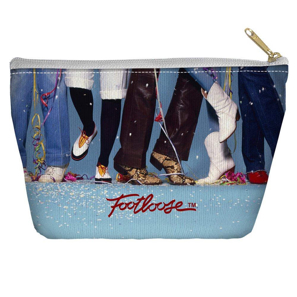 Footloose Loose Feet Accessory Pouch White 8.5X6