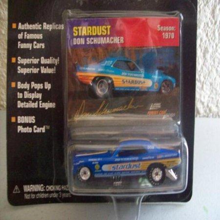 Johnny Lightning Funny Car Legends Don Schumacher Stardust