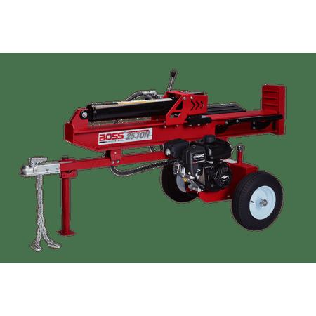 Boss Industrial 25 Ton Vertical/Horizontal Gas Log (Powermate 25 Ton 208cc Gas Log Splitter)