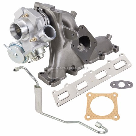 - Turbo Kit With Turbocharger Gaskets Oil Line For Chrysler PT Cruiser 2.4T