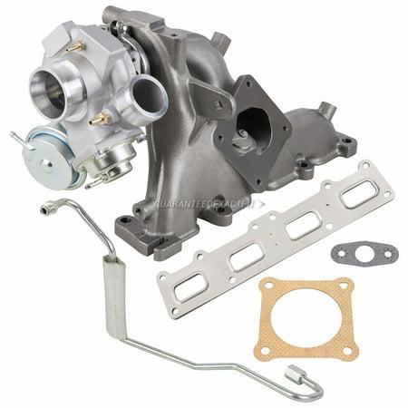 Chrysler Gaskets (New Turbo Kit With Turbocharger Gaskets & Oil Line For Chrysler PT Cruiser)