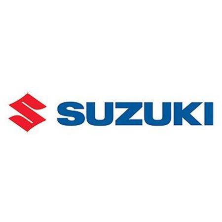 Suzuki Factory Logo Die Cut Decal Red and Blue 20