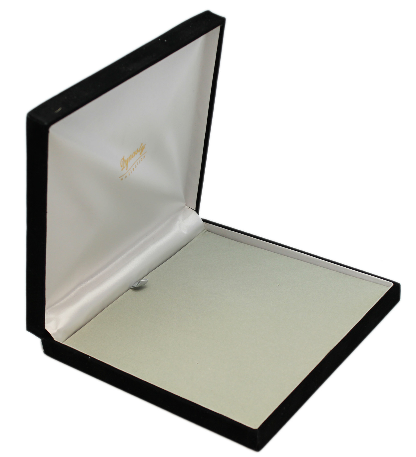 Black Velvet Jewelry Box - Extra Large 7-1/2 Inch Square