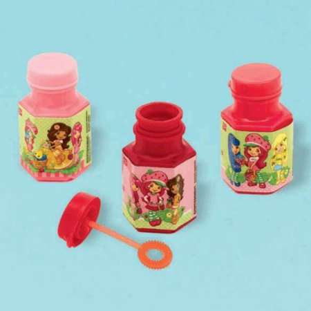 Strawberry Shortcake 'Dolls' Mini Bubbles / Favors (Strawberry Bubble)