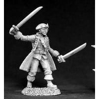 Reaper Miniatures Santoine De Fronze, Pirate #03378 Dark Heaven Unpainted Metal