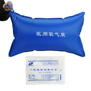 42L Portable Emergency Medical Oxygen Storage Bag Reusable Inflatable Oxygen Pillow Empty Bag PVC Oxygen Carry Bag