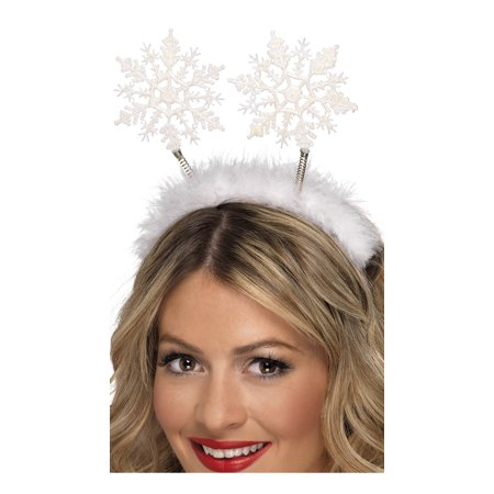 Snowflake Headband Bopper, Holiday Snowflake Headband - Head Boppers Wholesale