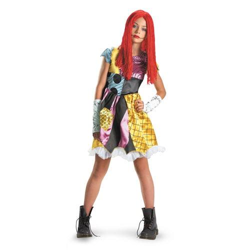 Tween Nightmare Before Christmas Sally Costume sz XL 14-16
