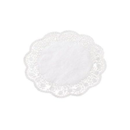 Paderno World Cuisine Paper Doilies, Round Disposable Placemats, 13