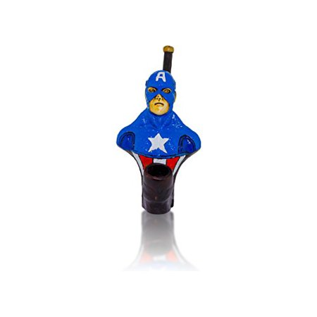 Handmade Tobacco Pipe Superheros (Ledger Captain - Jewel Superhero