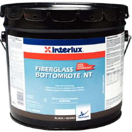 Interlux Boat Bottom Paint (Interlux Fiberglass BottomkoteReg NT Bottom Paint Black Qt YBB379Q )