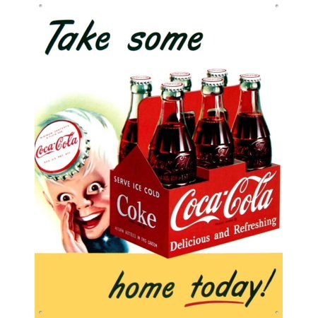 Its A Boy Sign (Coke Sprite Boy Tin Sign -)