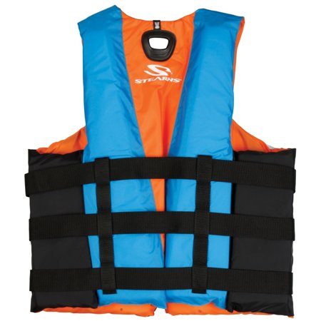 - Stearns PFD Mens Illusion Series Abstract Wave Nylon Vest
