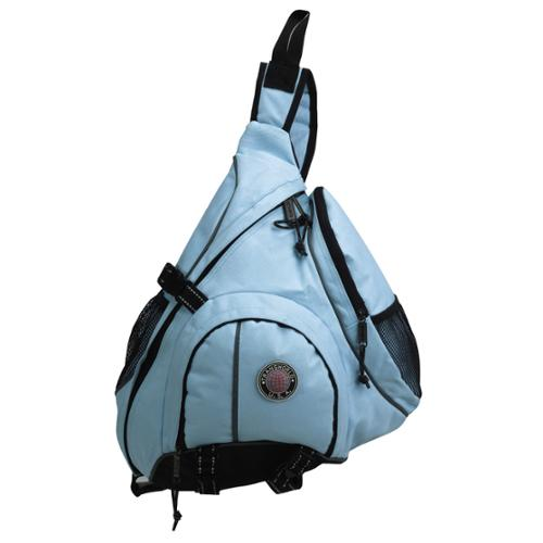 Backpack Messenger Bag Cross Body Organizer Single Strap Sling Shoulder Carryall Sky Blue One Size